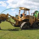 Vibrating Mole Plough Machine
